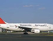 Un Airbus 310 della compagnia yemenita