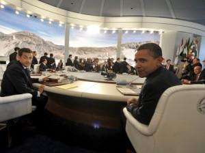 Il tavolo dei grandi