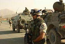 Un soldato italiano in missione