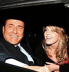 Silvio Berlusconi con la figlia Barbara