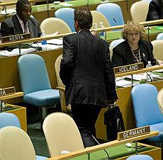 1° giornata dell'Assemblea Generale dell'Onu