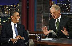 Obama e Letterman