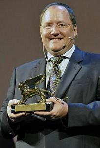 John Lasseter con il Leone d'oro alla carriera