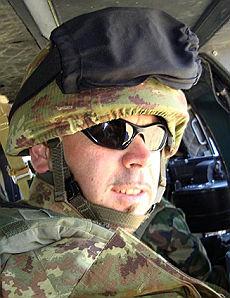 Il tenente Antonio Fortunato, morto nell'attentato a Kabul. Comandava la pattuglia