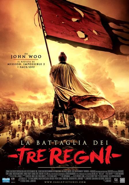 """Locandina de """" La battaglia dei Tre Regni"""""""