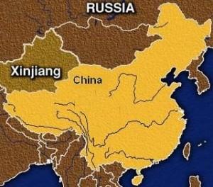 La regione dello Xinjiang