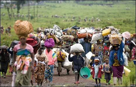 Sfollati congolesi