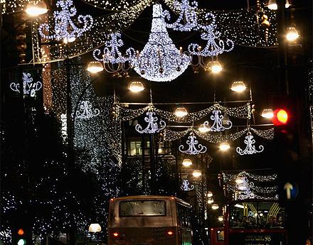 Le luci di Oxford Street