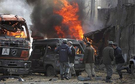 Bomba a Kabul