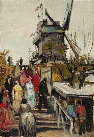 Le moulin Blute-fin, Vincent Van Gogh