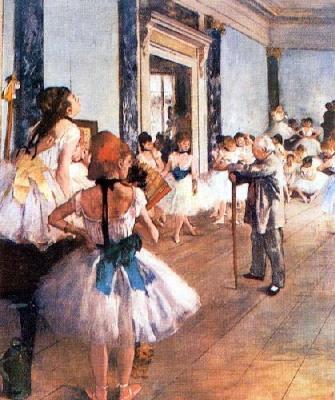 Classe di danza, Edgar Degas