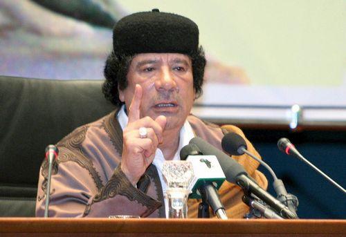 Gheddafi a Roma
