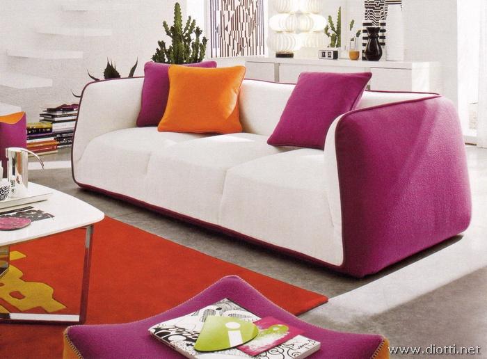 Divano Rosso E Grigio : Scegliere colore divano e tu quale sei